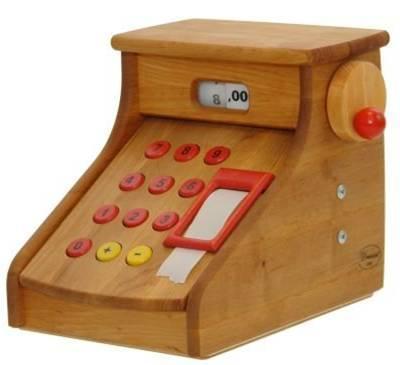 caisse enregistreuse en bois massif m mes eco 39 mpagnie jeux et jouets en bois enfant bas rhin. Black Bedroom Furniture Sets. Home Design Ideas