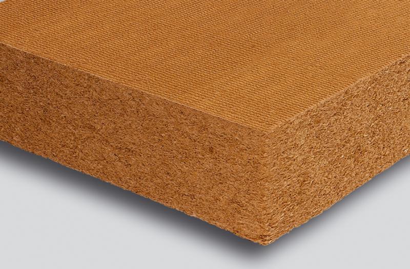 Panneaux isolants fibre de bois holzflex protect alternative ecologique is - Laine de bois castorama ...